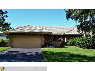 Coral Springs Single Family Home For Sale: 1288 NW 111th Ave