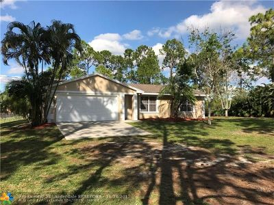 Loxahatchee Single Family Home For Sale: 14617 72nd Ct
