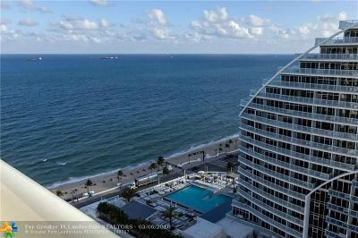 Fort Lauderdale Condo/Townhouse Backup Contract-Call LA: 505 N Fort Lauderdale Beach Blvd #2201