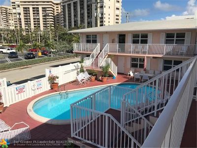 Lauderdale By The Sea Condo/Townhouse For Sale: 4658 Bougainvilla Dr #63
