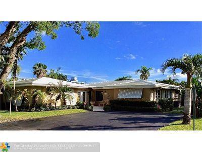 Oakland Park Single Family Home For Sale: 3320 NE 18th Ter