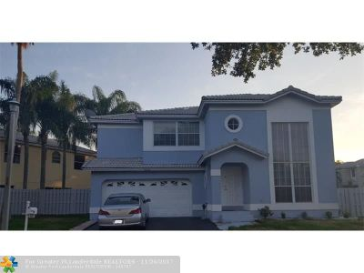 Coconut Creek Single Family Home For Sale: 4252 NW 55th Pl