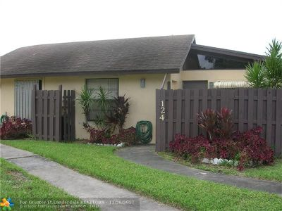 Hollywood Condo/Townhouse For Sale: 124 Gate Rd #2-66