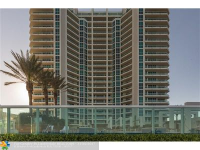 Condo/Townhouse For Sale: 101 S Fort Lauderdale Beach Blvd #2703
