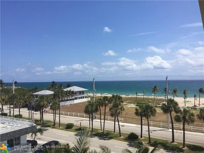 Lauderdale By The Sea Condo/Townhouse For Sale: 4540 N Ocean Dr #504
