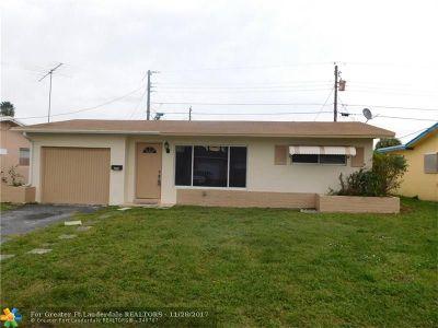 Sunrise Single Family Home Backup Contract-Call LA: 2778 NW 68th Way