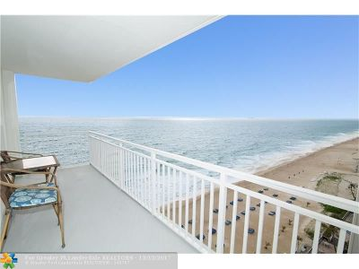 Condo/Townhouse For Sale: 3750 Galt Ocean Dr #1201