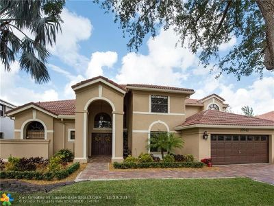 Plantation Single Family Home For Sale: 10943 NW 18th Dr