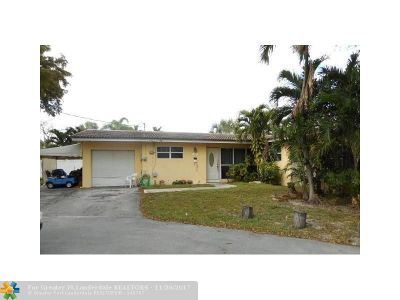 Fort Lauderdale FL Single Family Home Backup Contract-Call LA: $330,000