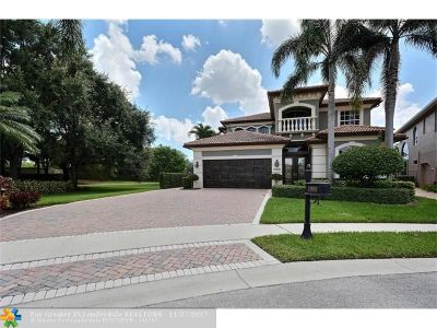 Delray Beach Single Family Home For Sale: 15832 Double Eagle Trl