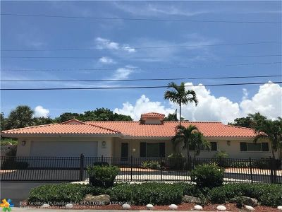 Fort Lauderdale Single Family Home For Sale: 2432 Middle River Dr