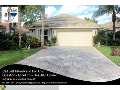 Delray Beach Single Family Home Backup Contract-Call LA: 7434 W Mercada Wy