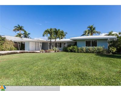 Wilton Manors Single Family Home For Sale: 2124 NE 18th Ave