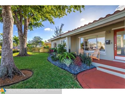 Wilton Manors Single Family Home Backup Contract-Call LA: 2625 NE 17th Ter