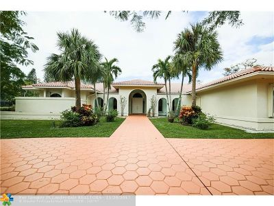 Coral Springs FL Single Family Home For Sale: $950,000