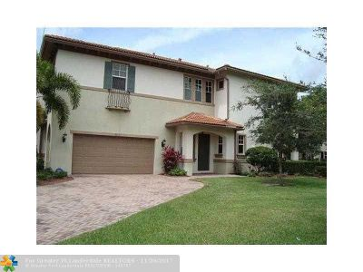 Coral Springs Rental For Rent: 6013 NW 118th Dr #6013