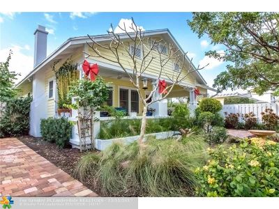 Fort Lauderdale Single Family Home For Sale: 223 NE 15th Ave