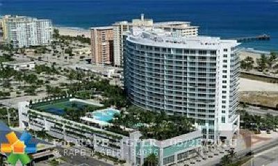 Pompano Beach Condo/Townhouse For Sale: 1 N Ocean Boulevard #510