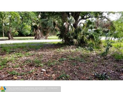 Fort Lauderdale Residential Lots & Land Backup Contract-Call LA: 801 SW 16th Street
