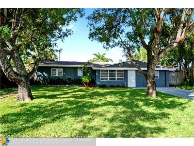 Wilton Manors Single Family Home For Sale: 2801 NW 7th Ave