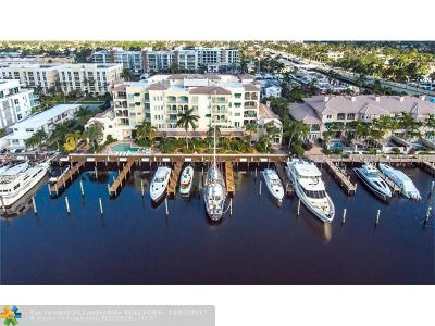 Fort Lauderdale Condo/Townhouse For Sale: 25 Hendricks Isle #403
