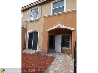 Miramar Condo/Townhouse For Sale: 12187 SW 27th St #1904