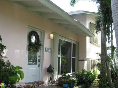 Fort Lauderdale Single Family Home For Sale: 2424 Whale Harbor Ln