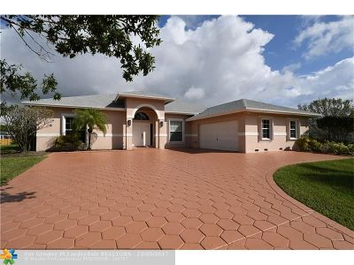 Fort Lauderdale Single Family Home For Sale: 20401 SW 51st St