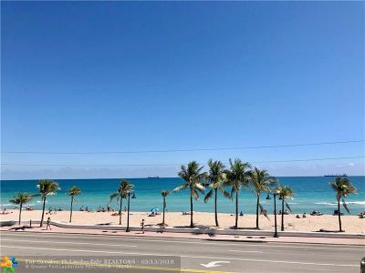 Fort Lauderdale Condo/Townhouse For Sale: 345 N Fort Lauderdale Beach Blvd #207