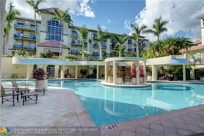 Wilton Manors Condo/Townhouse For Sale: 2625 NE 14th Ave #114