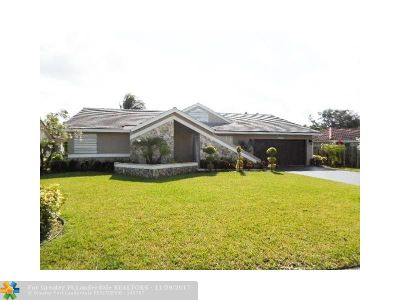Broward County Single Family Home For Sale: 8960 NW 45th Ct