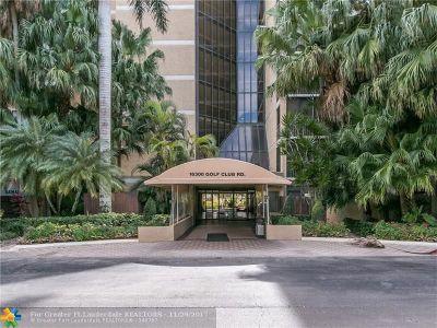 Weston Condo/Townhouse Backup Contract-Call LA: 16300 Golf Club Rd #718