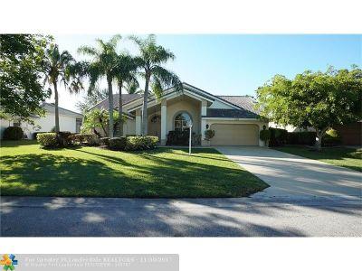 Coral Springs Single Family Home For Sale: 5228 Kensington Cir