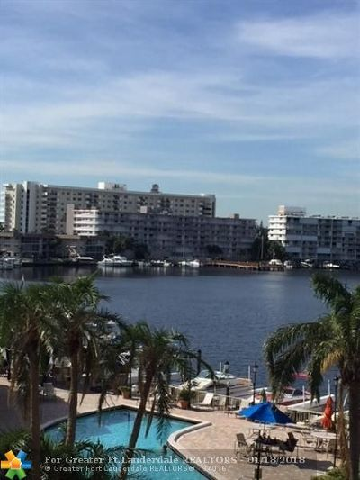 Hallandale Condo/Townhouse For Sale: 100 Golden Isles Dr #414