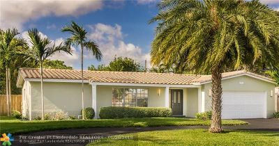 Fort Lauderdale Single Family Home For Sale: 5211 NE 14th Ter