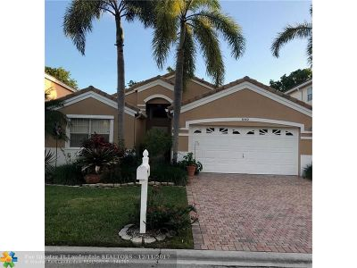 Coral Springs Single Family Home For Sale: 8542 NW 47th St