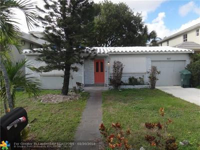 Fort Lauderdale Single Family Home For Sale: 1027 NE 13th Ave
