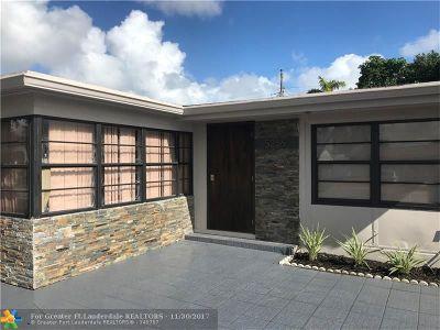 Broward County Single Family Home Backup Contract-Call LA: 5256 NE 4th Ave