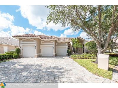 Coral Springs Single Family Home For Sale: 1960 Hartford Way