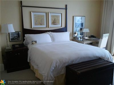 Fort Lauderdale Condo/Townhouse For Sale: 1 N Fort Lauderdale Beach Blvd #1605