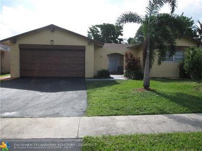Sunrise Single Family Home For Sale: 9340 NW 40th Ct