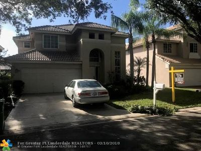 Coral Springs Single Family Home For Sale: 8532 NW 57th Dr