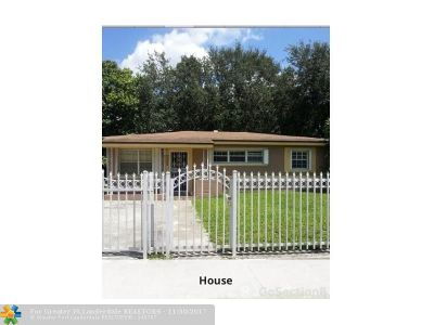 Miami Gardens Single Family Home For Sale: 2801 NW 174th St