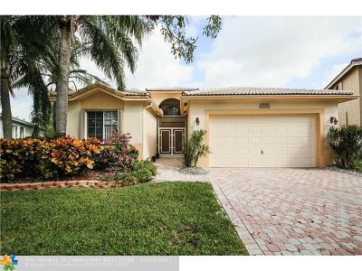 Coconut Creek Single Family Home For Sale: 5301 Flamingo Pl