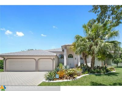 Plantation Single Family Home For Sale: 12163 NW 19th St