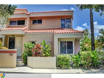 Plantation Condo/Townhouse For Sale: 7930 NW 7th Ct #707