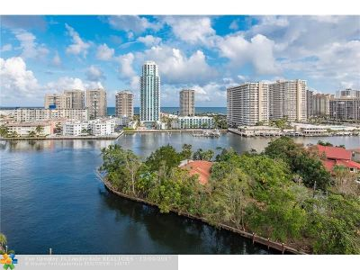 Hallandale Condo/Townhouse For Sale: 137 Golden Isles Dr #1006