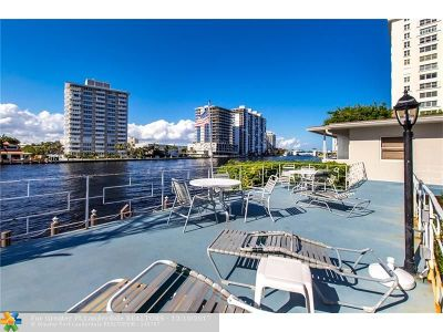 Fort Lauderdale Condo/Townhouse For Sale: 741 Bayshore Dr #23S