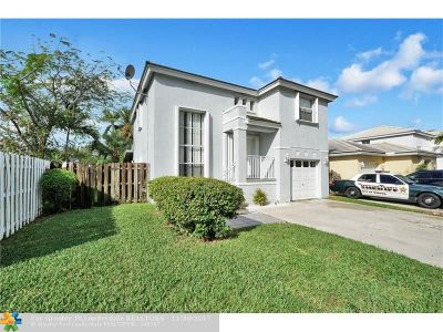 Margate Single Family Home Backup Contract-Call LA: 3085 Lighthouse Pl