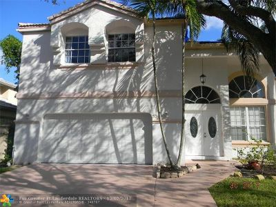 Coral Springs Single Family Home For Sale: 5343 NW 106th Dr